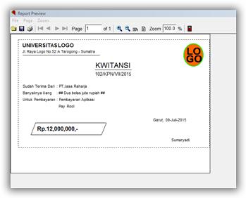 Kwitansi-report